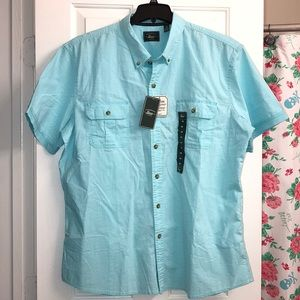 Bass Blue Button Down Shirt